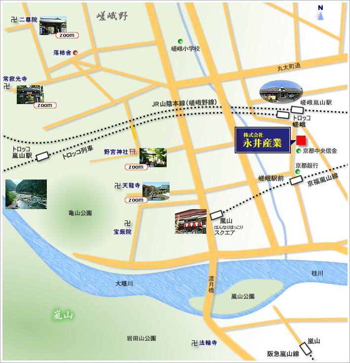 永井産業 アクセスマップ