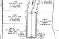 嵯峨釈迦堂門前瀬戸川町_区画計画図-3