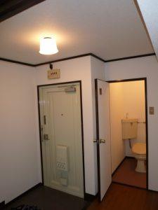 201号玄関・トイレ